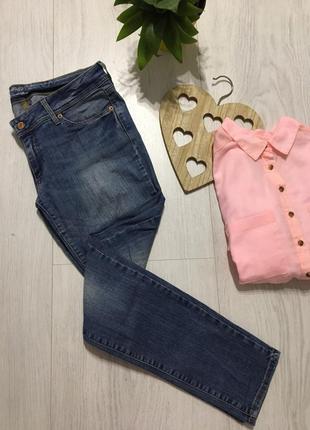 Летние джинсы colin's, прямые, узкие, стильные