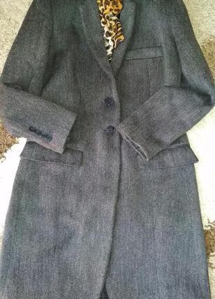Классическое стильное пальто zara