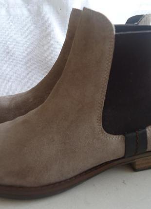 Кожаные деми ботинки catwalk 38р.