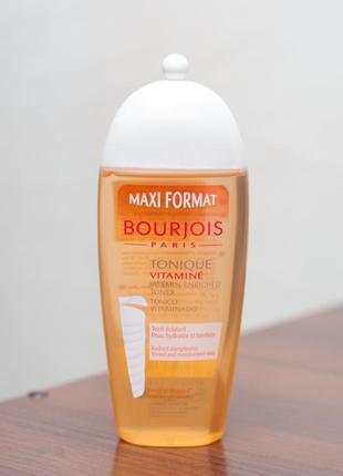 Тоник для лица витаминный для всех типов кожи bourjois tonique vitamine 250 мл
