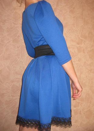 Платье синее цена грн