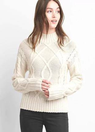 Белый женский свитерок gap!!!