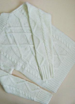 Белый женский свитерок gap!!!3 фото