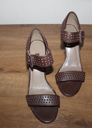 Кожаные босоножки сандалии ecco omak, 40 размер