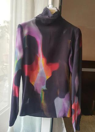 Шелковая рубашка moschino