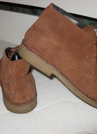 Ботинки полуботинки туфли bpc bonprix замша и кожа 43 размер