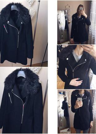Шикарное пальто new look