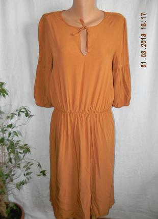 Легкое натуральное платье la redoute