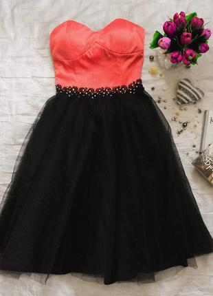 Выпускное вечернее короткое платье