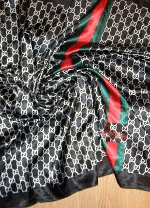 Эксклюзив стильный яркий шарф платок палантин от gucci
