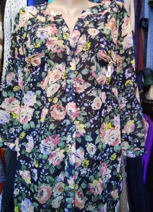 Очень красивая легкая блуза