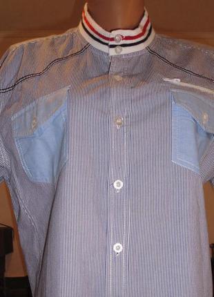 Рубашка-унисекс.  100% хлопок.  дания.  50-52р