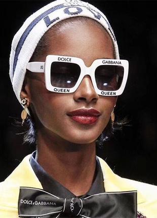 Крутые очки брендовын качества ааа в стиле d&g