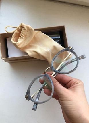 Идеальные очки под мрамор от eyebuydirect с прозрачными стеклами