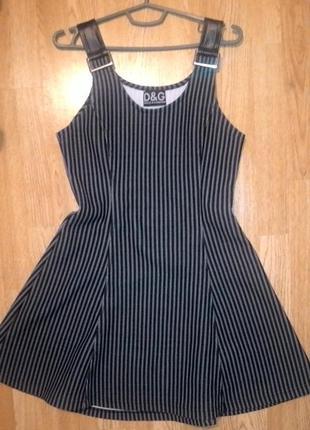 Брендовое платье d&g