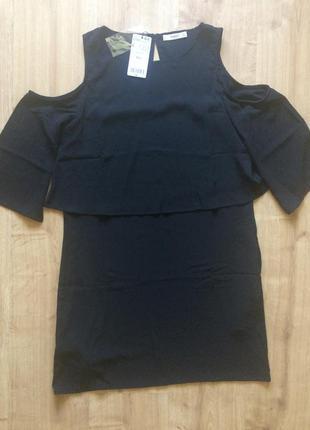 Круте чорне плаття mango