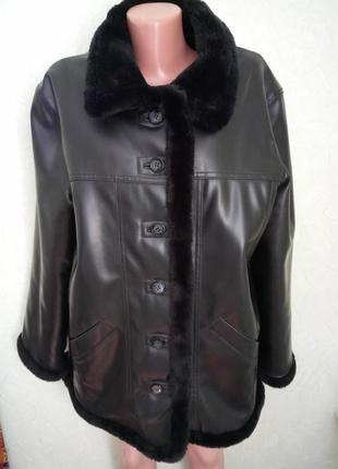Искусственная демисезонная куртка дублёнка qs clothing jackets от s.oliver