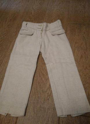 Лляні брюки. chicco