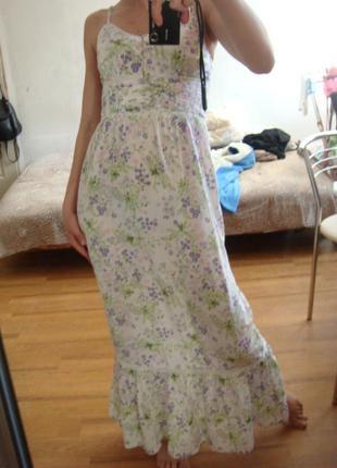 Laura di sarpi сарафан платье в пол размер 36