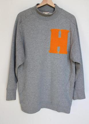 H&m oversize свитшот платье толстовка
