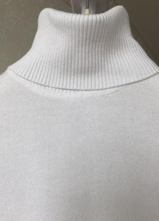 Кофта/ гольф/ oggi/ белая с длинным рукавом /размер m/2