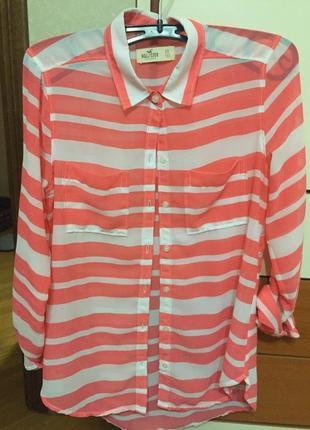 Летняя рубашка hollister