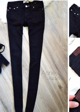 Продам новые черные джинсы acne