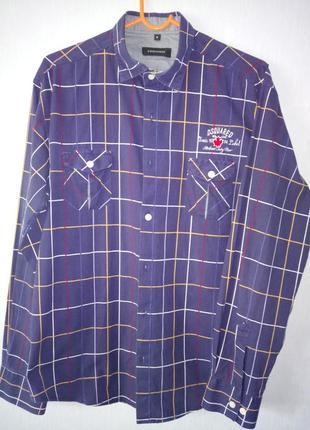 Стильная  рубашка р. s-м
