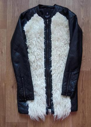 Пальто  удлиненная куртка sisters point xs-s