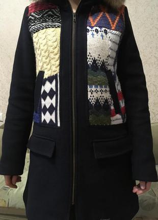 Продам пальто демисезонное от испанского бренда desigual
