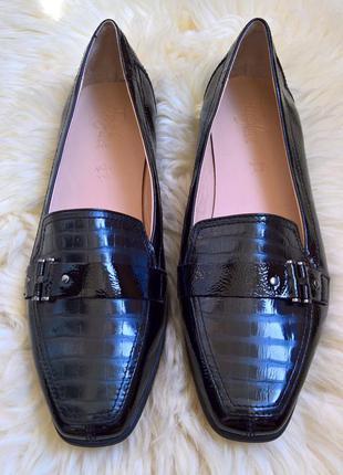 Кожаные туфли footglove.