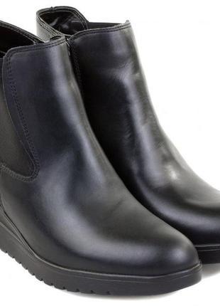 Новые кожаные полуботинки челси ботинки ара ara