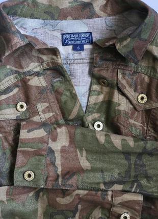 Пиджак куртка ralph lauren, милитари с люрексом
