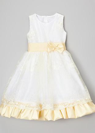 Нарядное выпускное платье на рост 115-125см
