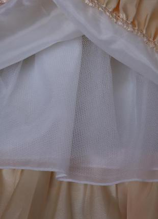Нарядное выпускное платье на рост 115-125см5 фото