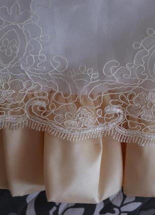 Нарядное выпускное платье на рост 115-125см4 фото