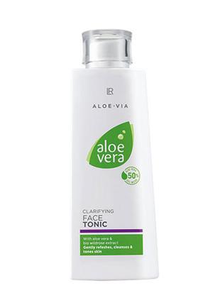 Aloe vera очищающий тоник для лица, 200мл