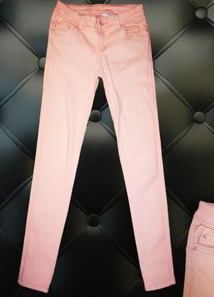 Розовые джинсы размер 10