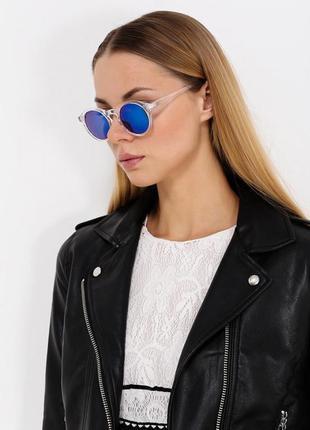 Невесомые, воздушные летние очки. прозрачная оправа.  приятная стоимость.