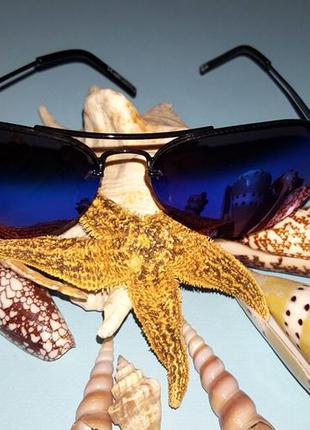 Солнцезащитные (зеркальные хамелеоны) очки авиаторы ray-san, в стиле ray-ban
