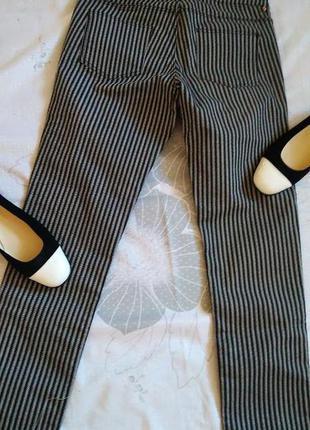 Джинсы-скинни, штаны h&m super skinny размер eur 40  us 10 наш 443 фото