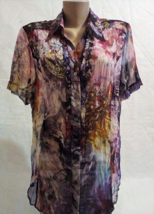 Оригинальная женская блузка  bonita размер 16