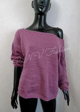 Нежный свитер из ангоры новый