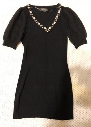 Красивое платье с красивым декольте
