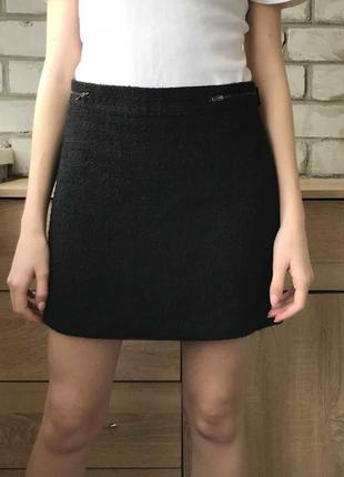 Чёрная юбка new look