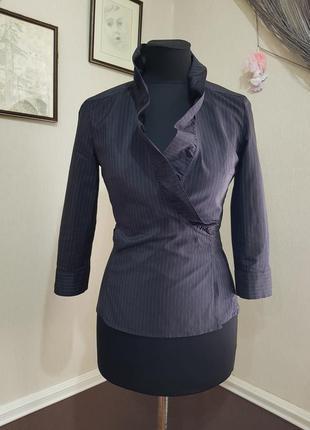 Стильная блуза в полоску max mara