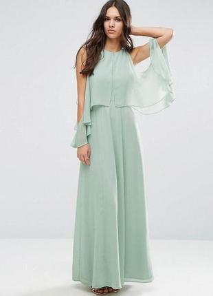 ec9a0264411 Шикарное светлое вечернее платье от asos в пол на торжество