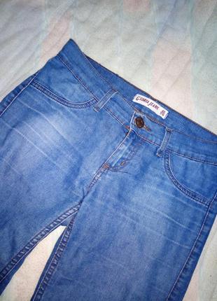 Синие джинсы gloria jeans новые