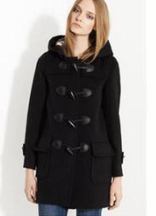 Пальто burberry оригинал шерсть