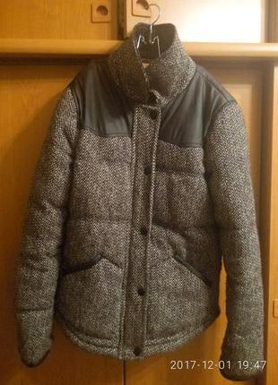 Пальто курточка на синтапоне от next размер s